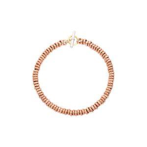 DODO WASHERS BRACELET KIT IN ROSE GOLD 17 CM