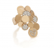CHANTECLER PAILLETTES RING IN 18 KT ROSE GOLD AND DIAMONDS